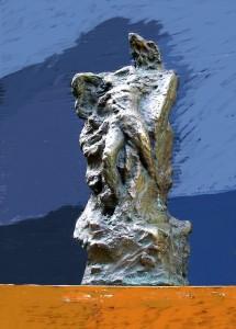 Γλυπτική δημιουργία Δημήτρη Κούρου