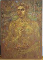 Έφηβος_Ζωγραφικός πίνακας Δημήτρη Κούρου