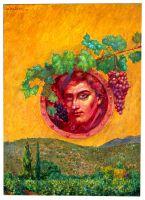 Άμπελος_Ζωγραφικός πίνακας Δημήτρη Κούρου