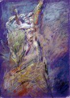 Αναγέννηση ανθρώπου_Ζωγραφικός πίνακας Δημήτρη Κούρου,