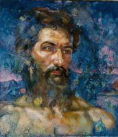 Φιλοκτήτης__Ζωγραφικός πίνακας Δημήτρη Κούρου