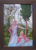 Φύση και ψυχή_Ζωγραφικός πίνακας Δημήτρη Κούρου